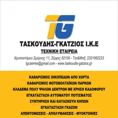 ΤΑΣΚΟΥΔΗΣ ΓΚΑΤΖΙΟΣ