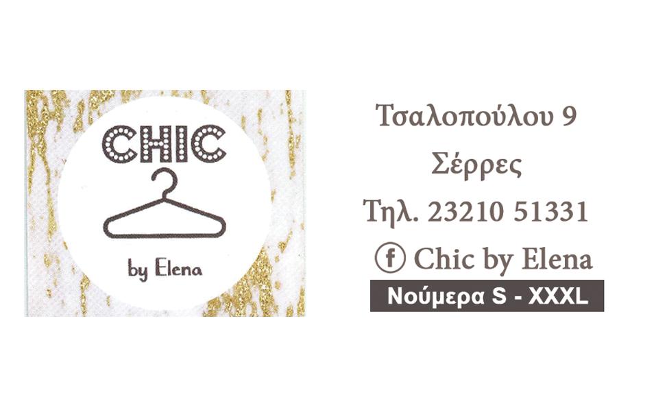 CHIC BY ELENA